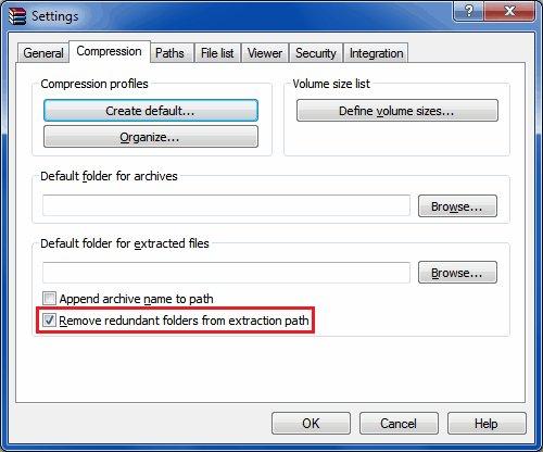screenshot of above-described WinRAR configuration