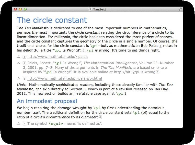 Text inline editing Screenshot