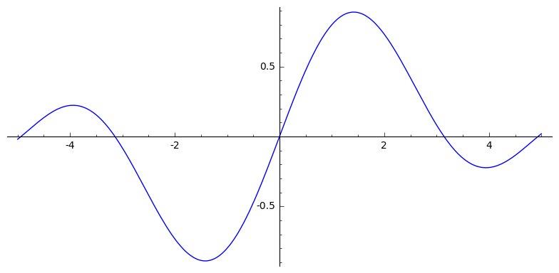 example of basic output